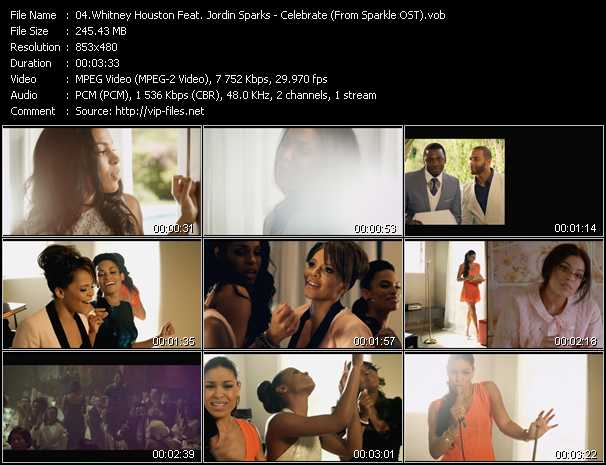 Whitney Houston Feat. Jordin Sparks Video Clip(VOB) vob