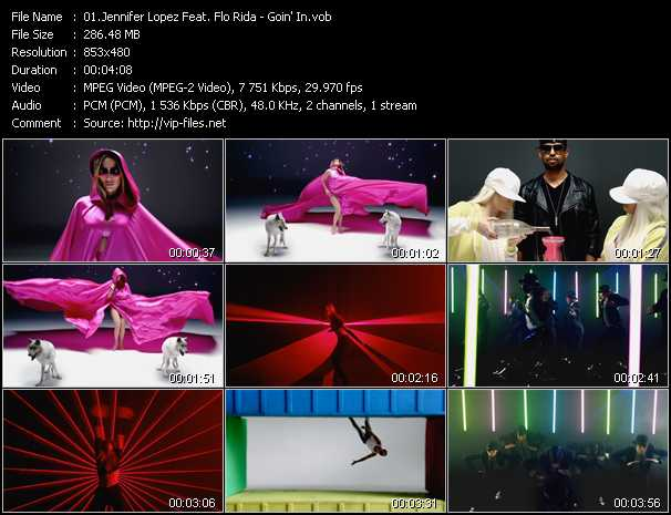 Jennifer Lopez Feat. Flo Rida Video Clip(VOB) vob