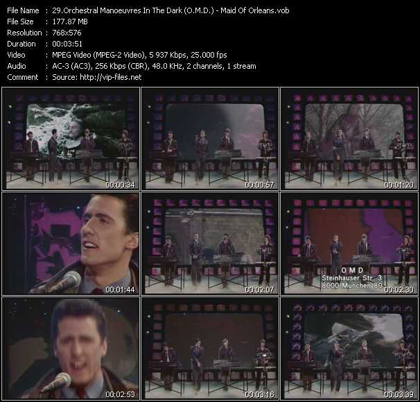 O.M.D. (Orchestral Manoeuvres In The Dark) Video Clip(VOB) vob