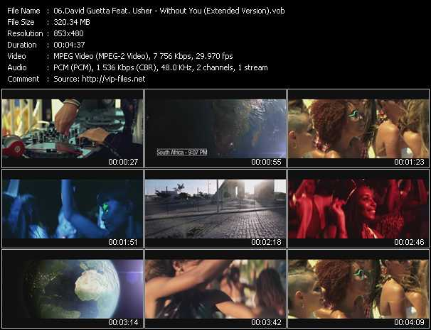 David Guetta Feat. Usher Video Clip(VOB) vob
