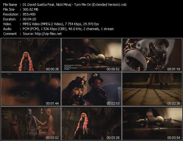 David Guetta Feat. Nicki Minaj Video Clip(VOB) vob