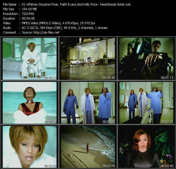 Whitney Houston Feat. Faith Evans And Kelly Price Video Clip(VOB) vob