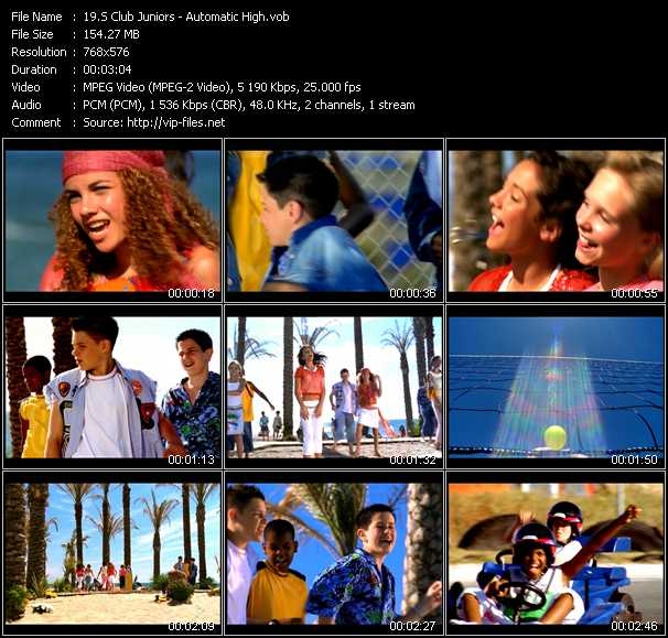 S Club Juniors Video Clip(VOB) vob
