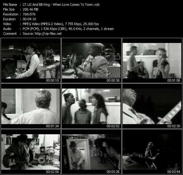 U2 And B.B. King Video Clip(VOB) vob