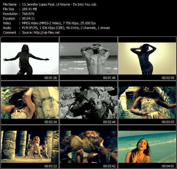 Jennifer Lopez Feat. Lil' Wayne Video Clip(VOB) vob