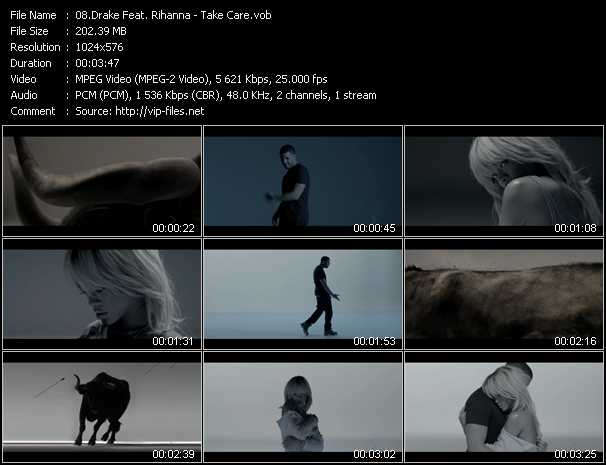 Drake Feat. Rihanna Video Clip(VOB) vob