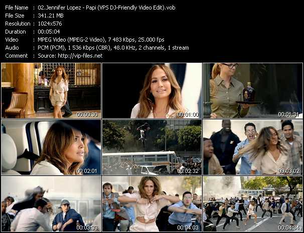 Jennifer Lopez Video Clip(VOB) vob