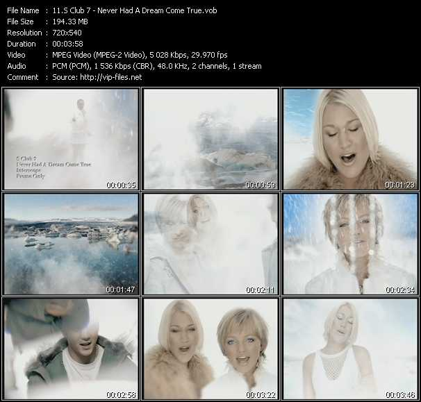 S Club 7 Video Clip(VOB) vob