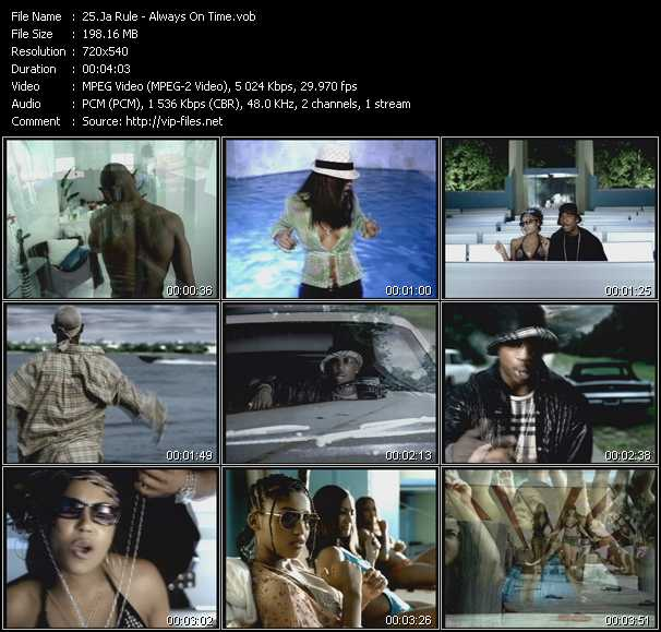 Ja Rule Video Clip(VOB) vob