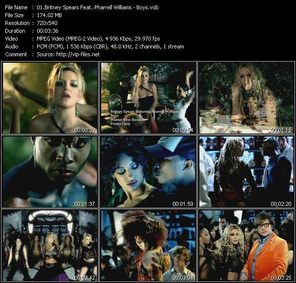 Britney Spears Feat. Pharrell Williams Video Clip(VOB) vob