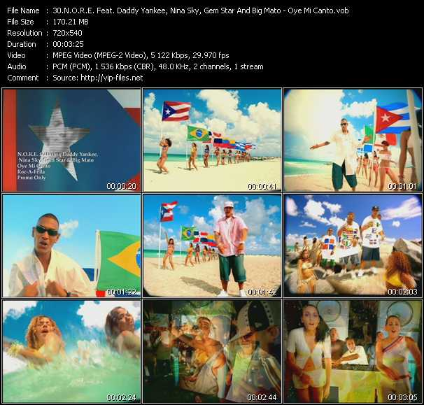 N.O.R.E. Feat. Daddy Yankee, Nina Sky, Gem Star And Big Mato Video Clip(VOB) vob