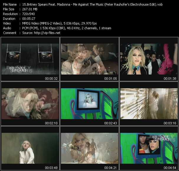 Britney Spears Feat. Madonna Video Clip(VOB) vob