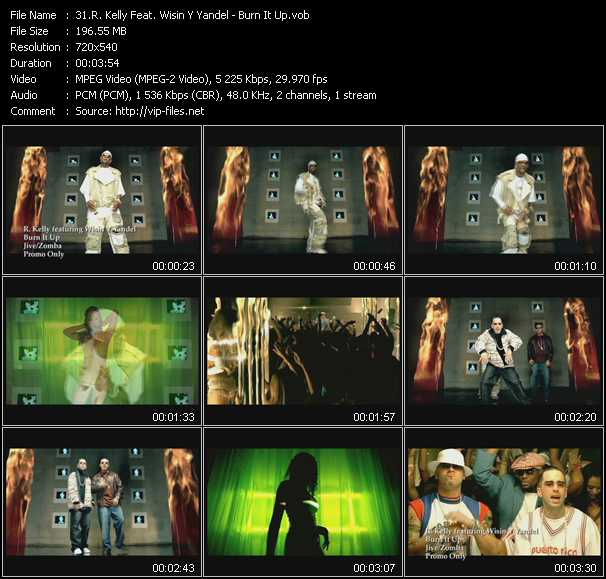 R. Kelly Feat. Wisin And Yandel Video Clip(VOB) vob