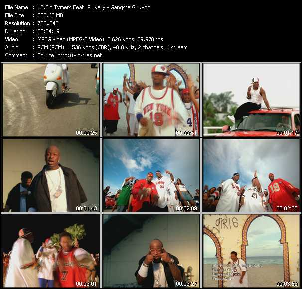 Big Tymers Feat. R. Kelly Video Clip(VOB) vob