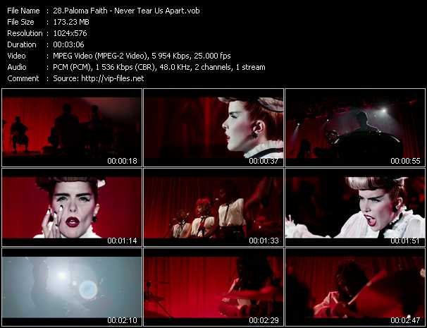 Paloma Faith Video Clip(VOB) vob