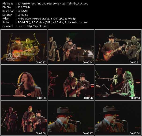 Van Morrison And Linda Gail Lewis Video Clip(VOB) vob