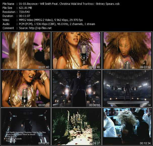 Beyonce - Will Smith Feat. Christina Vidal And Tra-Knox - Britney Spears Video Clip(VOB) vob
