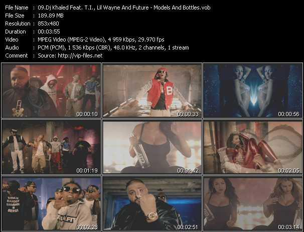 Dj Khaled Feat. T.I., Lil' Wayne And Future Video Clip(VOB) vob