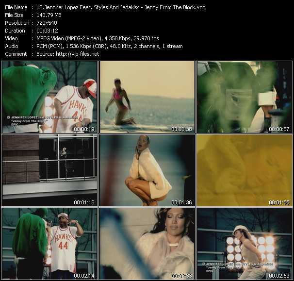 Jennifer Lopez Feat. Styles And Jadakiss Video Clip(VOB) vob