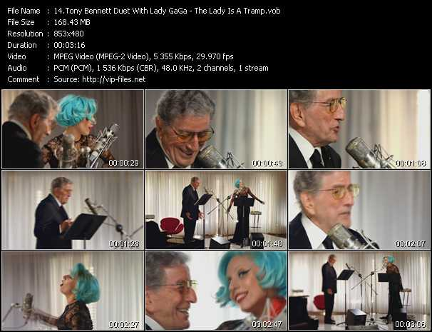 Tony Bennett Duet With Lady GaGa Video Clip(VOB) vob